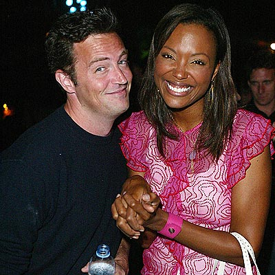 CAST REUNION photo | Aisha Tyler, Matthew Perry