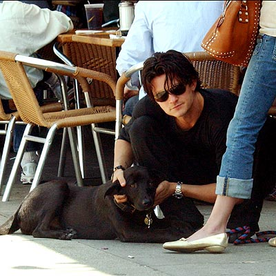 DOG'S BEST FRIEND photo | Orlando Bloom