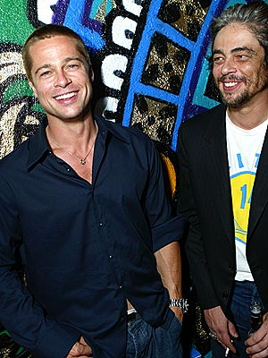 BOYS' NIGHT OUT photo | Benicio Del Toro, Brad Pitt
