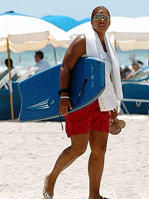 BEACH QUEEN photo | Queen Latifah