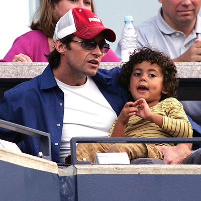 FAMILY ACTIVITY photo | Hugh Jackman