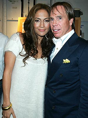 JENNY & TOMMY photo | Jennifer Lopez, Tommy Hilfiger