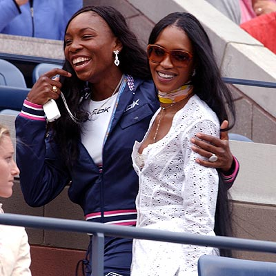 SHARING THE LOVE photo | Naomi Campbell, Venus Williams