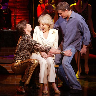BOYS FROM OZ photo | Barbara Walters, Hugh Jackman, Matt Damon