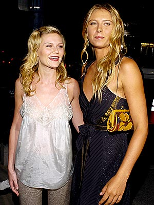 REEL SWINGERS photo | Kirsten Dunst, Maria Sharapova