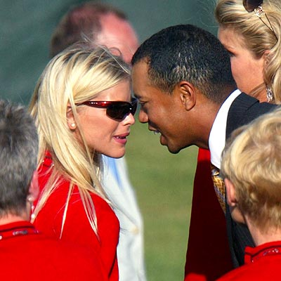 HEAD START photo | Elin Nordegren, Tiger Woods