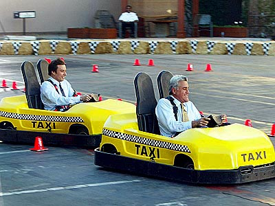 CRAZY TAXI photo | Jay Leno, Jimmy Fallon