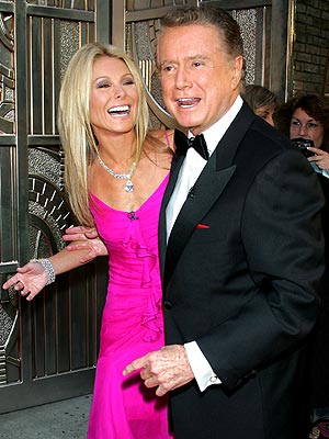 LIVE ANTICS photo | Kelly Ripa, Regis Philbin