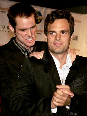 SNEAK ATTACK photo | Jim Carrey, Mark Ruffalo
