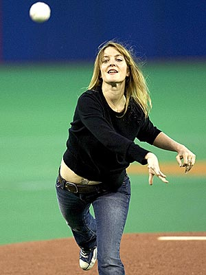 BALL GIRL photo | Drew Barrymore