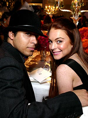 DINNER FOR TWO photo | Lindsay Lohan, Wilmer Valderrama