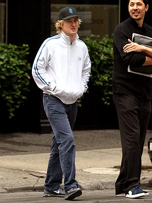 STROLLING WITH OWEN photo | Owen Wilson
