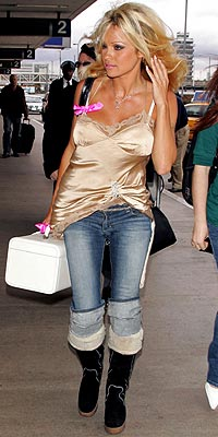 FREQUENT FLIER photo | Pamela Anderson