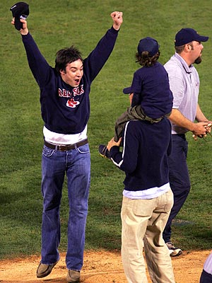 RED SOX FEVER photo | Jimmy Fallon
