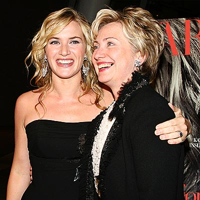 APPROVAL RATING photo | Hillary Rodham Clinton, Kate Winslet