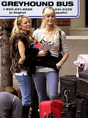 GOING COACH photo | Nicole Richie, Paris Hilton
