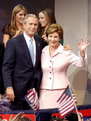 FOUR MORE YEARS photo | Barbara Bush, George W. Bush, Jenna Bush, Laura Bush