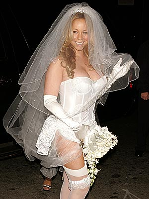 HERE COMES THE BRIDE photo | Mariah Carey