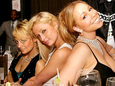 BIRTHDAY PRESENCE  photo | Mariah Carey, Nicole Richie, Paris Hilton