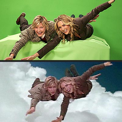 STAR FLIGHT photo | Ellen DeGeneres, Kate Winslet