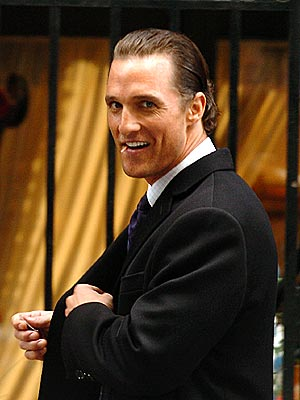 ONE FOR THE SHOW photo | Matthew McConaughey