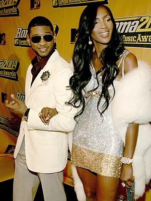 ARM IN ARM photo | Naomi Campbell, Usher