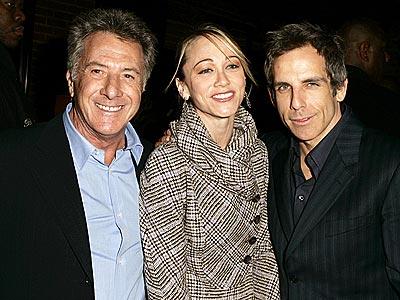 MEET AND GREET photo | Ben Stiller, Christine Taylor, Dustin Hoffman