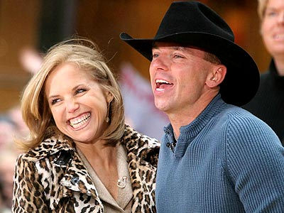 COUNTRY CRUSH photo | Katie Couric, Kenny Chesney