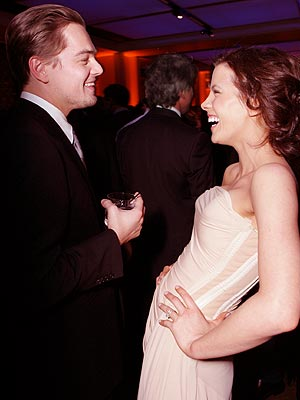 LEAN BACK photo | Kate Beckinsale, Leonardo DiCaprio