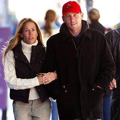 ARM-IN-ARM photo | Lance Armstrong, Sheryl Crow