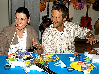 CUSTOM PAINT JOB photo | Julianna Margulies, Michael Vartan