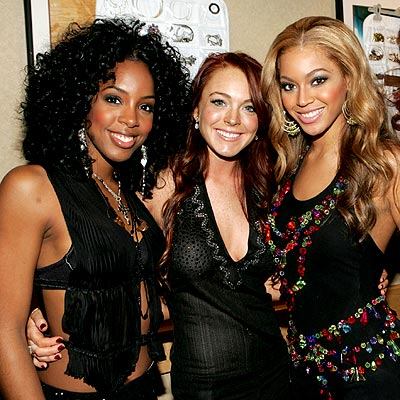 HAVING A BALL photo | Beyonce Knowles, Kelly Rowland, Lindsay Lohan