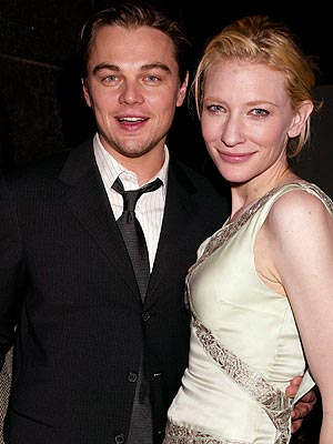 PARTY SCENE photo | Cate Blanchett, Leonardo DiCaprio