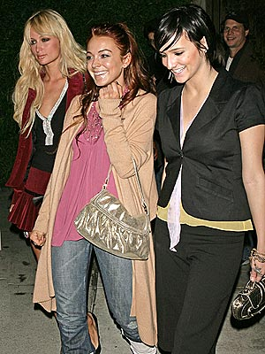 POWER TRIO photo | Ashlee Simpson, Lindsay Lohan, Paris Hilton