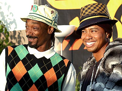 HOW HIGH? photo | Snoop Dogg, Tiger Woods