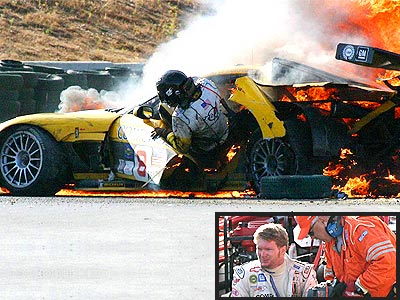 MOST TERRIFYING MOMENT  photo | Dale Earnhardt Jr.