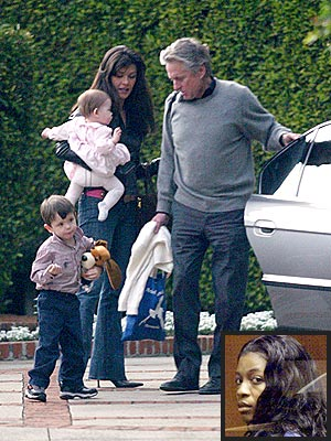 MOST CHILLING TESTIMONY photo | Catherine Zeta-Jones, Michael Douglas