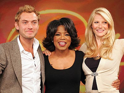 SWEETEST COUP photo | Gwyneth Paltrow, Jude Law, Oprah Winfrey