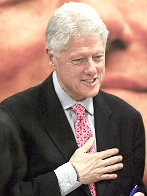 CLOSEST CALL photo | Bill Clinton