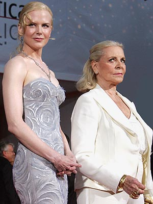 MOST DISPUTED USE OF THE WORD 'LEGEND' photo | Lauren Bacall, Nicole Kidman