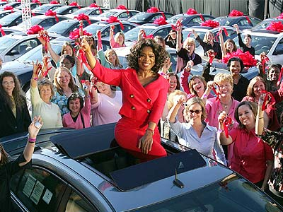 LUCKIEST AUDIENCE  photo | Oprah Winfrey