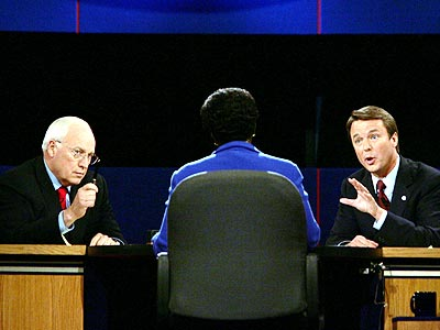 BEST SPARRING MATCH photo | Dick Cheney, John Edwards
