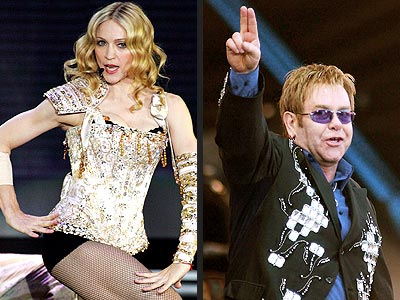 MOST BIZARRE TIRADE photo | Elton John, Madonna