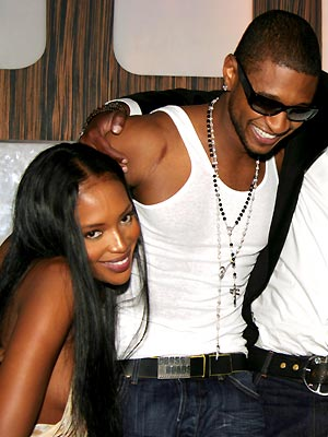 SEXIEST BIRTHDAY SURPRISE photo | Naomi Campbell, Usher