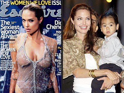 SEXIEST MOM photo | Angelina Jolie