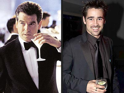 MOST RINGING ENDORSEMENT photo | Colin Farrell, Pierce Brosnan
