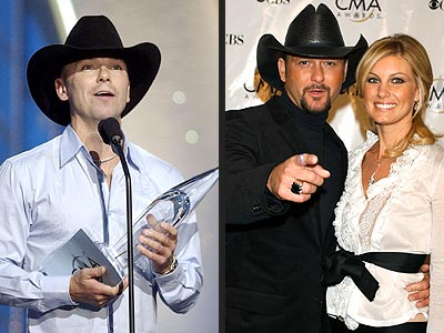 MOST OVERDUE WIN photo   Kenny Chesney, Tim McGraw