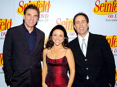 BIGGEST REUNION ABOUT NOTHING photo | Jerry Seinfeld, Julia Louis-Dreyfus, Michael Richards