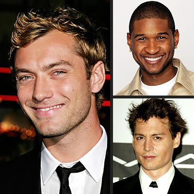 BIGGEST HEARTTHROB photo | Johnny Depp, Jude Law, Usher
