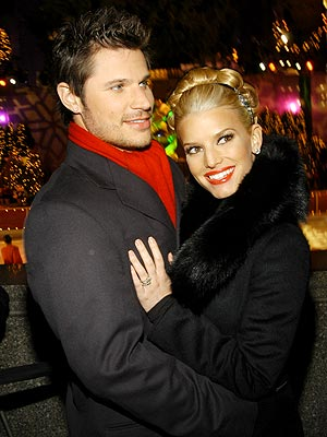BIGGEST HOLIDAY STAR  photo | Jessica Simpson, Nick Lachey